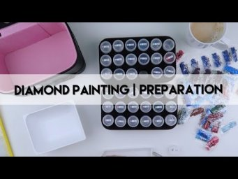 Diamond Painting - Preparation | Rose - Nabi Store