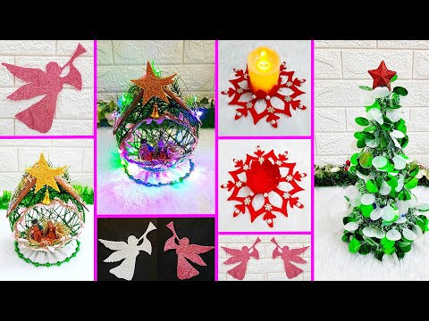 4 Economical Christmas Craft idea |DIY Low budget Christmas craft idea