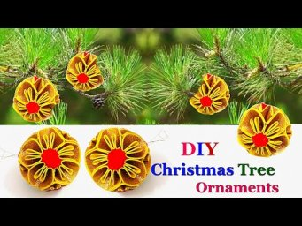 DIY-Christmas Tree ornament making ideas |DIY Christmas decoration idea