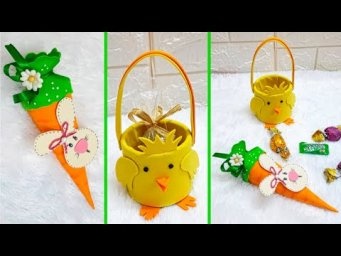 2 Easy Easter/spring craft for Gift idea |DIY Low budget Easter/spring décor idea (Part 27)