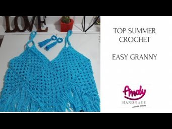 top summer crochet - easy granny