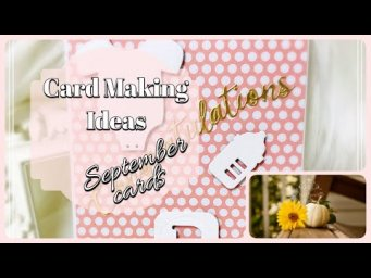 Card Making Ideas September 2020 | Simply Made Crafts by Helen Griffin | Daisy Mae Design | Stamping