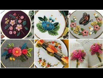 Hand Embroidery Brazilian Embroidery Flowers Designs Ideas 2021 / Heavenly Handmade Creations