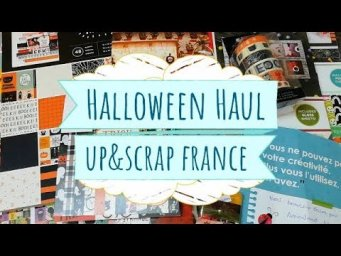 Compritas de Halloween en Up & Scrap