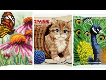 Cross Stitch Embroideried Cushions Design's / Bed Cushion Cover Design's