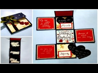 Beautiful Birthday card idea | DIY Greeting Card for Birthday | Special birthday card  | tutorial