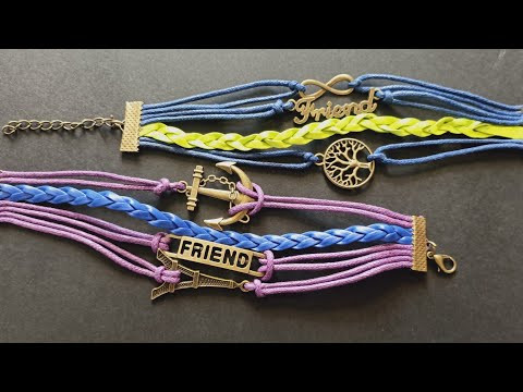 How to Make Friendship Band || Friendship Band Tutorial || Friendship day special