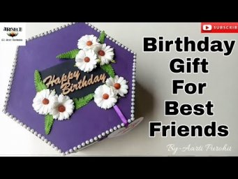 Tower Explosion Box || Purple Royal color Tower Box||Birthday Gift For BFF