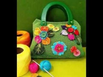 Crocheted purse | Handbags design's and styles latest beautiful collection (part-2) 2019 - 2020