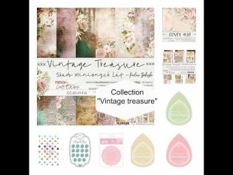 "ScrapMerveilleux collection ""Vintage Treasure"""