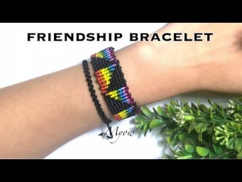 TRIANGLE COLORED FRIENDSHIP BRACELET - MYOW 124
