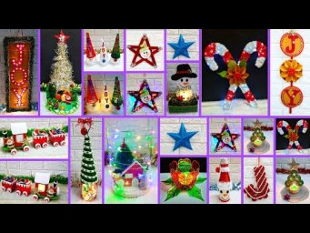 15 Easy low budget handmade Christmas craft idea |DIY Economical Christmas craft idea