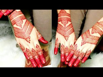 New Easy mehndi designs for back hands Arabic mehndi design 2021_Simple and Easy Eid Mehandi design
