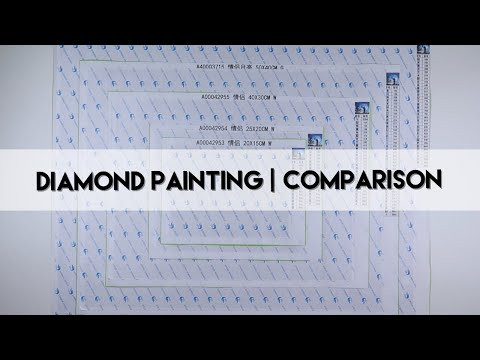 Diamond Painting - What Size? | Comparing Canvasses