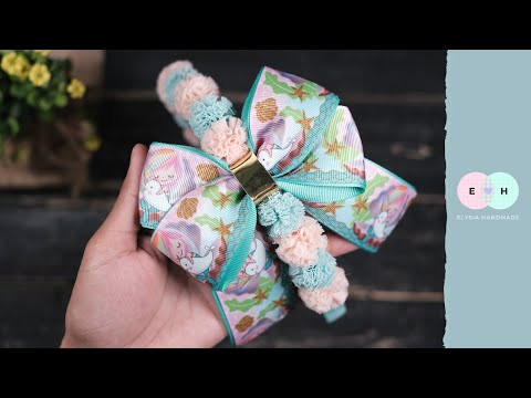 Inspiration for beautiful headbands (bando)  for your girls | DIY by Elysia Handmade