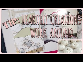 How to Work Around a Heartfelt Creations Mini Album Insert | Scrapbooking, Card Making, & Layouts