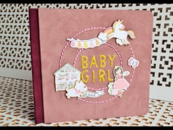 "ПОП АП АЛЬБОМ ""All GIRL""/СКРАПБУКИНГ/SCRAPBOOK IDEAS/crazy paper craft/рукоделие и творчество"