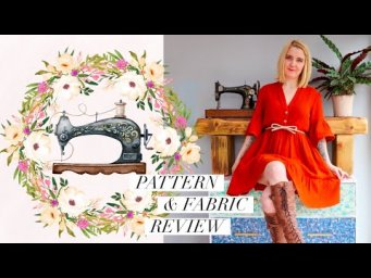 Pattern and Fabric Review - a match made in heaven
