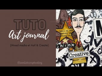 Tuto art journal #34