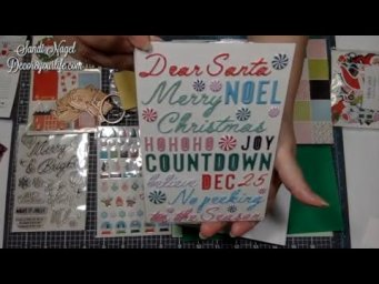 Spellbinders Unboxing | Card Kit of the Month | Dancin' Santa | October 2020 | Card Making Ideas