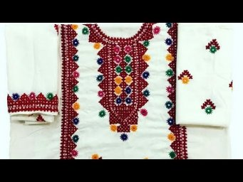 How to do mirror work hand embroidery tutorials for mirror #design2021