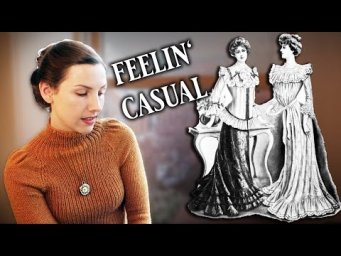 Victorian Loungewear or Athleisure: What was casual Victorian wear?