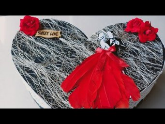 Valentines day heart Box Card||Valentine's Day Special Gift||Valentine's day gift