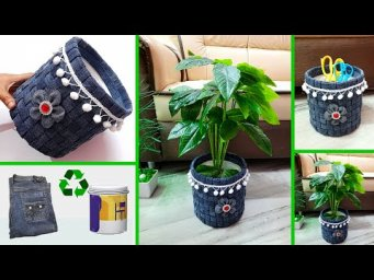 Best out of waste organizer made with recycling materials |DIY organizer making idea