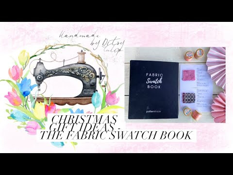 Christmas gift ideas - The fabric swatch book