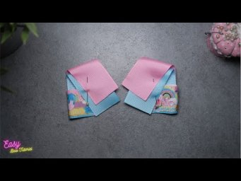 DIY Creative Art | Cute Ribbon Bow ties - Elysia Handmade