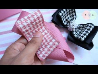 Amazing Ribbon Bow - Hand Embroidery Works - Ribbon Tricks & Easy Making Tutorial #71