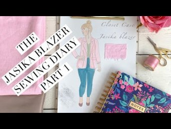The Jasika blazer sewing diary part 1