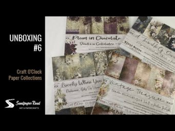 Unboxing #6 | Craft O'Clock Products | Sandpaper Road