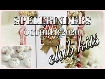 Card Making Idea feat Spellbinders October 2020 Club Kits | Easel Cards | Paper Crafting Ideas