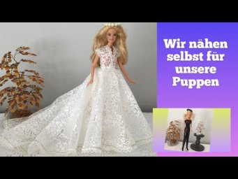 Puppenkleider selber machen. Make doll clothes yourself