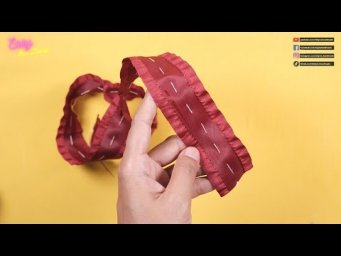 DIY Hair Accessories - Amazing Bow Ideas With Ruffle & Net Ribbon - Elysia Handmade
