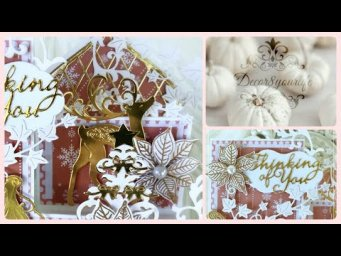 Christmas Step Card Idea feat Card Making Magic by Christina Griffiths | Card Making | Craftstash