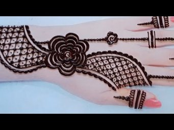 Mehandi ka design for Eid_Arebic henna design_#shorts
