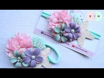 Amazing Baby Headband Ideas - Hand Embroidery Works - Ribbon Tricks & Easy Making Tutorial #76