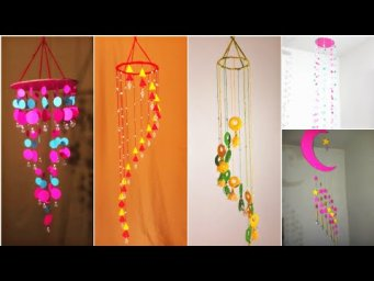 5 Wall Hanging Idea | ROOM DECOR 2020 | Best Easy Wall Hanging Ideas | Jhumar