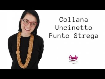 Tutorial Collana punto strega uncinetto