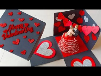 Valentine's Day Surprise Box Tutorial|| Best Valentine's Day Gift For Gf/BF|| Full Tutorial