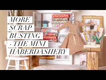 More scrap busting ideas - the mini haberdashery