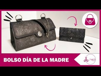 BOLSO SCRAP ORIGINAL - REGALO DÍA DE LA MADRE | TUTORIAL | JUGASA