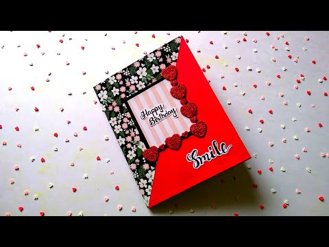 Beautiful Birthday Card | Special Birthday Card | Creative Birthday Card Idea | Tutorial