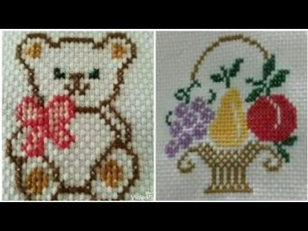 Cross Stitch embroidery design for beginners / Cross Stitch Patterns / Heavenly Handmade Creations