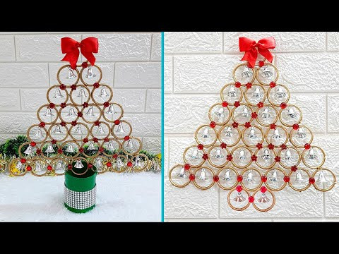 2 Low budget Christmas Craft idea with recycled materials |best out of waste Christmas craft idea