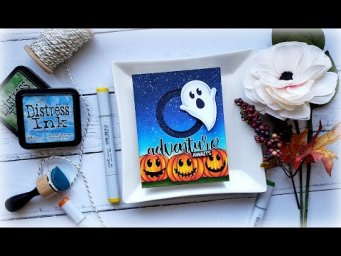 Ghost Halloween Interactive Slider Card: Halloween Plans