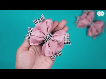 DIY Hair Clips / Hair Tie Ideas For Baby Girl - Easy Step by Step By Elysia Handmade #12