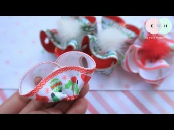 DIY Amazing Ribbon Bow - Hand Embroidery Works - Ribbon Tricks & Easy Making Tutorial #77